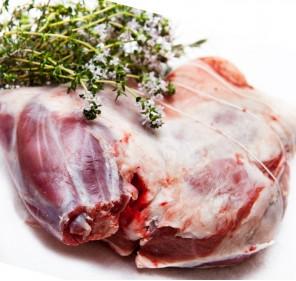 Pulpă de capră cu os