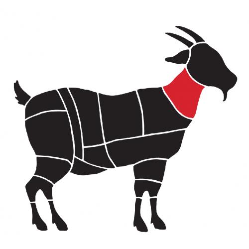 Gât de capră feliat cu os